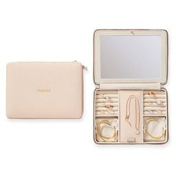 Large Travel Jewelry Case, Foil Debossed | Mark and Graham