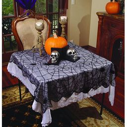 Spider Webs Lace Table Runner-Rounded   Walmart (US)