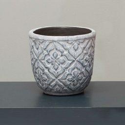 Chadwell Decorative Round Concrete Pot Planter | Wayfair North America
