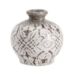 Collette Handcrafted Floral Terra Cotta Vases | Pottery Barn (US)