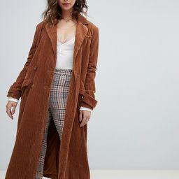 Free People Abbey Road duster coat-Orange | ASOS (Global)