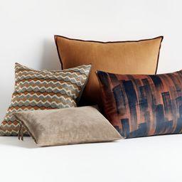 Nia Pillow Arrangement   Crate and Barrel   Crate & Barrel