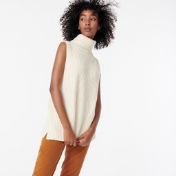 Ribbed turtleneck sweater-vest | J.Crew US
