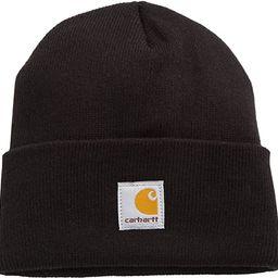 Carhartt Youth Big Boys' Acrylic Watch Hat, Caviar Black, One Size | Amazon (US)