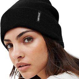 FURTALK Womens Knit Beanie Hat Acrylic Winter Hats for Women Men Soft Warm Unisex Cuffed Beanie | Amazon (US)