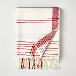 Engineered Plaid Throw Blanket - Hearth & Hand™with Magnolia   Target