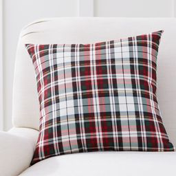 Denver Plaid Indoor/Outdoor Pillow | Pottery Barn (US)