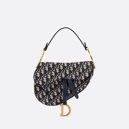 Saddle Bag Blue Dior Oblique Jacquard - Bags - Women's Fashion   DIOR   Christian Dior (US)