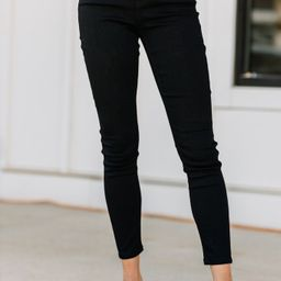 Do The Most Black Skinny Jeans   The Mint Julep Boutique