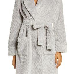 Textured Short Robe | Nordstrom