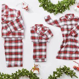 Morgan Plaid Family Pajama Collection | Pottery Barn Kids