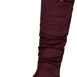 DREAM PAIRS Women's Suede Over The Knee Thigh High Winter Boots   Amazon (US)