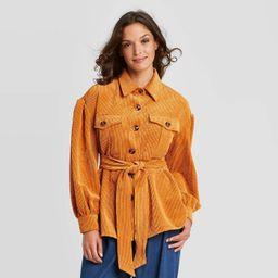 Women's Volume Sleeve Shirt Jacket - Who What Wear™   Target