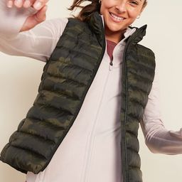 Packable Narrow Channel Puffer Vest for Women | Old Navy (US)