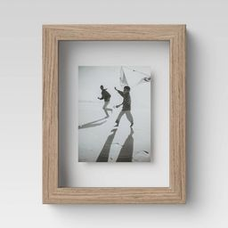 "4"" x 6"" Wood Float Frame Brown - Threshold™ | Target"
