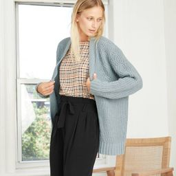 Women's Chenille Open-Front Cardigan - A New Day™   Target