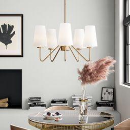 Higginson 5 - Light Shaded Traditional Chandelier | Wayfair North America