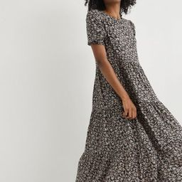 Aerie Garden Party Midi Dress | American Eagle Outfitters (US & CA)