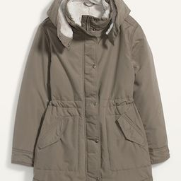 Faux-Fur Lined Hooded Parka Coat for Women   Old Navy (US)