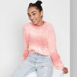 Women's Spacedye Crewneck Pullover Sweater - Wild Fable™ | Target