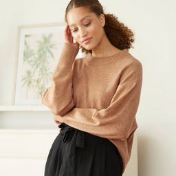 Women's Slouchy Crewneck Pullover Sweater - A New Day™ | Target