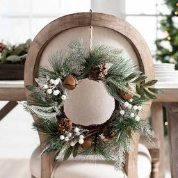 Mini Wreath with Bells and Berries | Kirkland's Home