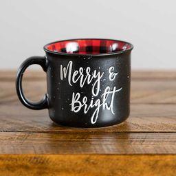 Black Merry and Bright Camper Mug | Kirkland's Home