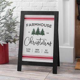 Farmhouse Christmas Easel | Kirkland's Home