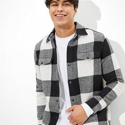 AE Flannel Overshirt   American Eagle Outfitters (US & CA)
