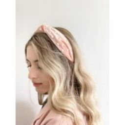 Pearl Headband - Blush Pink Headband, Large Matador Alice Band, Spanish Style Velvet | Etsy (US)
