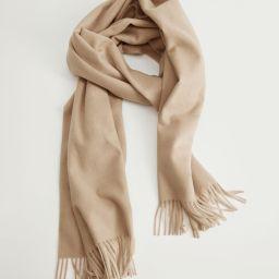Fringed edge scarf | MANGO (US)