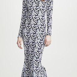 Long Sleeve Fishtail Dress | Shopbop