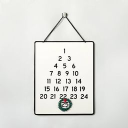 Holiday Advent Calendar with Wreath - Hearth & Hand™ with Magnolia   Target