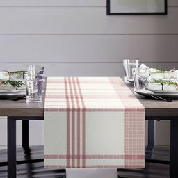 Plaid Table Runner Red/Cream - Hearth & Hand™ with Magnolia   Target