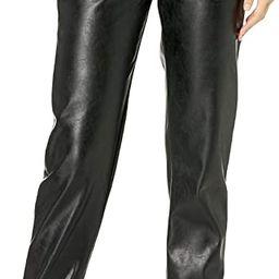 KENDALL + KYLIE Women's Vegan Leather Jogger | Amazon (US)