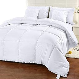 Utopia Bedding Comforter Duvet Insert - Quilted Comforter with Corner Tabs - Box Stitched Down Al... | Amazon (US)