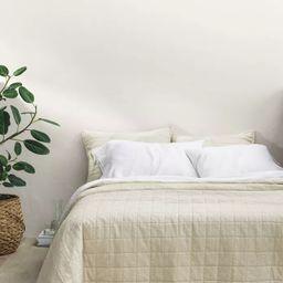 Heavyweight Linen Blend Quilt - Casaluna™ | Target