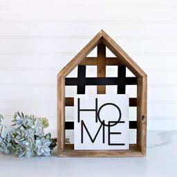 home sign, home farmhouse, mini sign, small sign, housewarming gift ideas, mini wood sign, mini s... | Etsy (US)