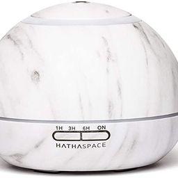 Hathaspace Marble Essential Oil Aroma Diffuser, 350ml Aromatherapy Fragrance Diffuser & Ultrasoni... | Amazon (US)