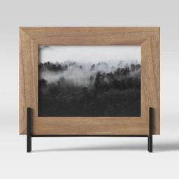 """5"""" x 7"""" Natural Frame with Stand Brown - Project 62™ 