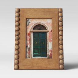 "4"" x 6"" Beaded Frame Wood - Opalhouse™ | Target"