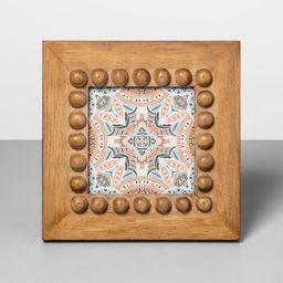 "4"" x 4"" Beaded Frame Wood - Opalhouse™ | Target"