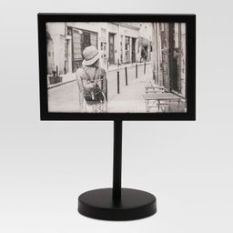 """4"""" x 6"""" Modern Standing Single Picture Frame Black - Project 62™ 