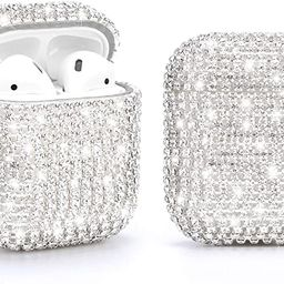 Gdrtwwh Diamond Airpods Case Cover Protective Airpods Charging Cases Hard Carrying Case Accessori... | Amazon (US)