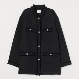 Textured-weave Jacket   H&M (US)