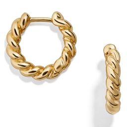 Petra Huggie Hoop Earrings   Nordstrom