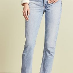 Riley High Rise Straight Crop Jeans   Shopbop