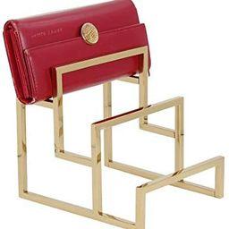 Gold Clutch Purse Display Stand - 3 Steps Clutch Handbag Holder Purse Closet Organizer - Wallet D... | Amazon (US)