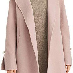 ANNA&CHRIS Women's Long Wool Trench Coat Winter Oversize Handmade Lapel Cardigan Overcoat | Amazon (US)