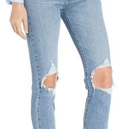 Levi's Women's 724 High Rise Straight Crop Jeans | Amazon (US)